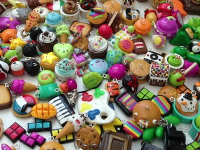 POLYMER CLAY CHARM COLLECTION PT 1