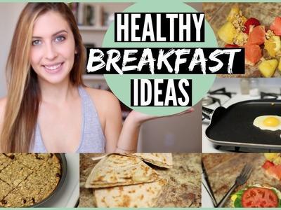 Quick & Healthy Breakfast Ideas for School | Courtney Lundquist