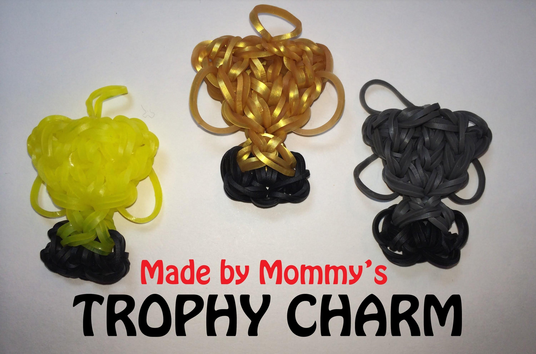 Rainbow Loom Charm: Trophy Award