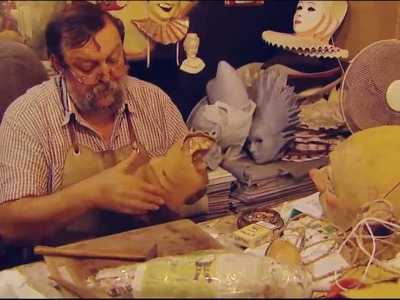 Setti Carlo, mask maker of Venice - PBS profile produced by Dutch Rall