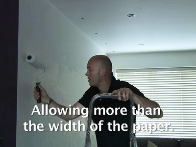Superfresco EASY Handy Tip - How to paste the wall, not the paper