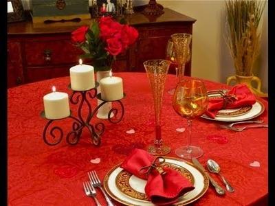The Romantic Table - Table Setting Ideas