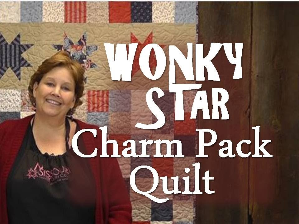 The Wonky Star Charm Pack Quilt
