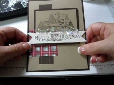 Using Stampin' Up! Mica Flakes