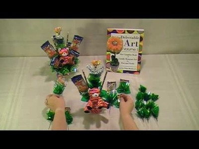 Zoo Animals Candy Bouquet - How To Make Candy Bouquets - Delectable Art