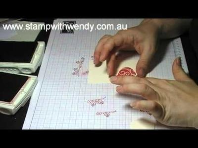 20 days of Handmade Christmas Cards - Day 7