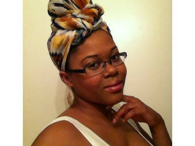 5. How to tie an Infinity Scarf into a Turban