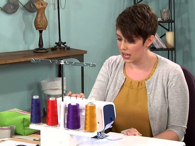 604-1 Amy Alan has a serger lesson on It's Sew Easy
