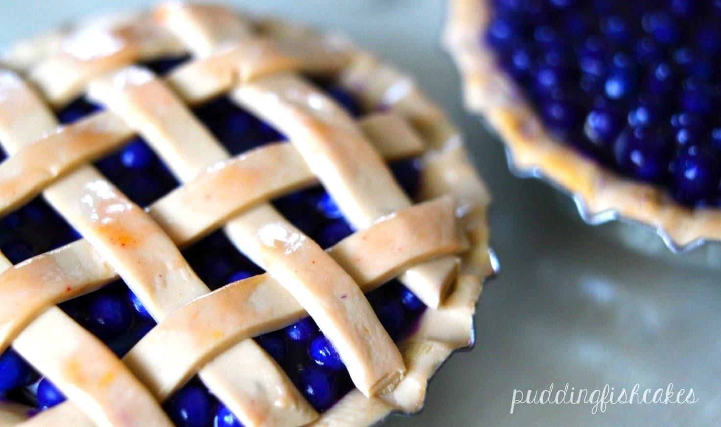 Blueberry Pie: Polymer Clay Tutorial