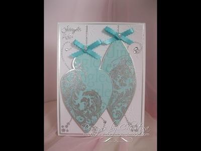 Christmas Bauble Card  (card-making-magic.com)