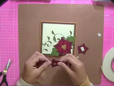 Christmas Card - How to Make a Beautiful Christmas Card with Becka B