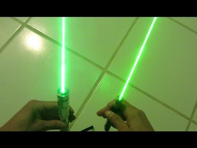 DIY: Powerful 520nm Green Laser Diode Torch! Step by Step Build
