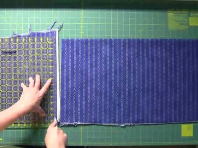 Fabric Cutting for Quilt As You Go