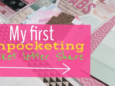 First Unpocketing Video: Pocket Letter Share