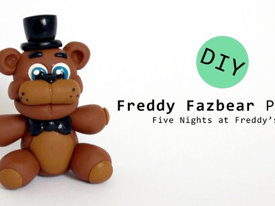 Five Nights at Freddy's Freddy Fazbear Plush Polymer Clay Tutorial