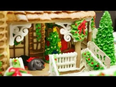 Gingerbread house lesson 3 how to attach decorations