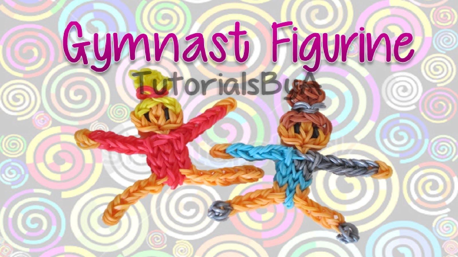 Gymnast Action Figurine.Figurine Rainbow Loom Tutorial