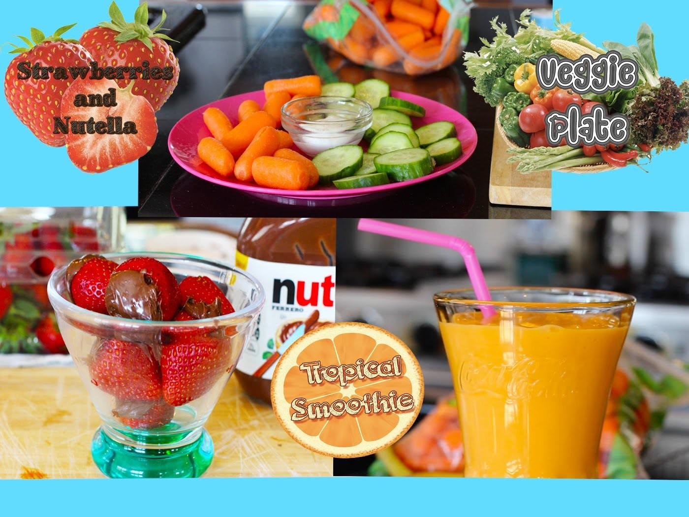 Healthy After School Snack Ideas