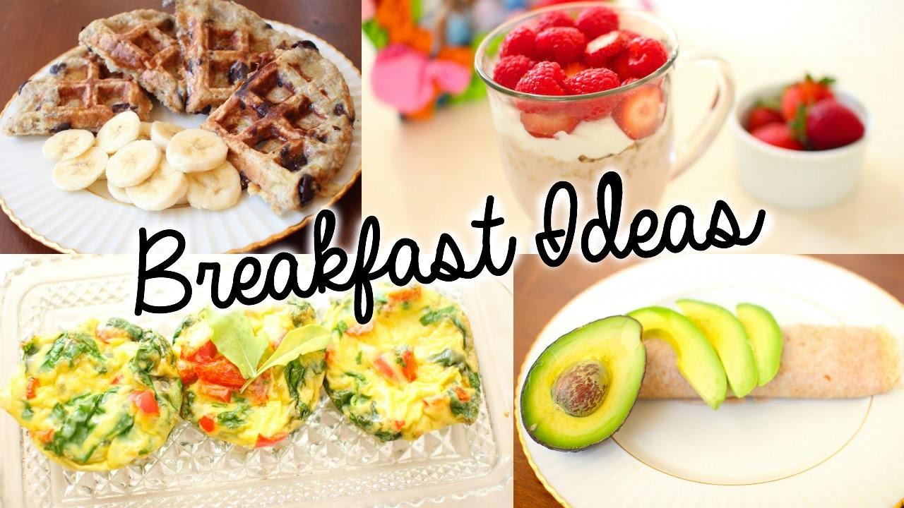 Healthy & Easy Breakfast Ideas for School!