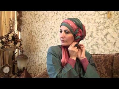 Hijab Tutorial # 11(Elegant Hijab w. Twisted Flower)