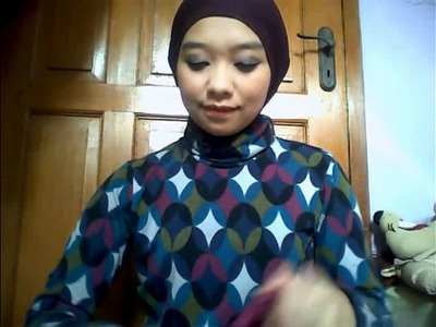 Hijab tutorial 2 - 3 styles of circle shawl.flv