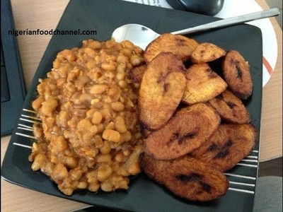 How to cook Nigerian Beans - (Ẹwa) | Nigerian Food Recipes