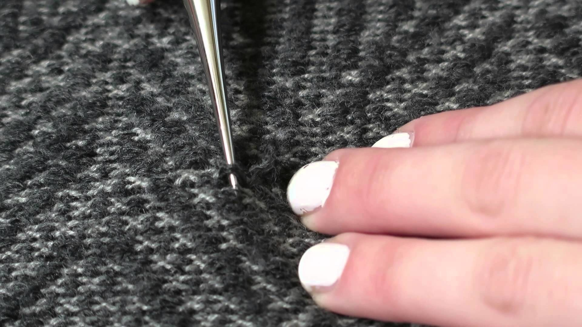 How to Fix a Snagged Sweater