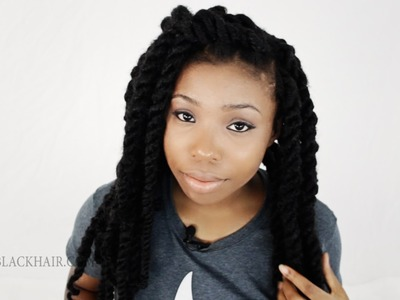 How To Maintain Havana Twists. Marley Twist Hair Tips & Advice Tutorial 3