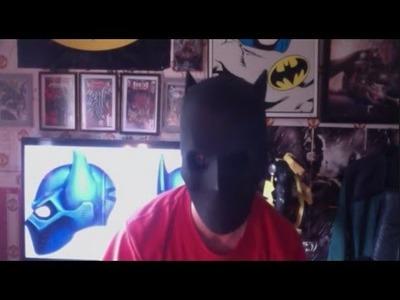 How to make A Batman Mask & Helmet Updated