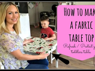 How to Make a Bespoke Cath Kidston Table Top