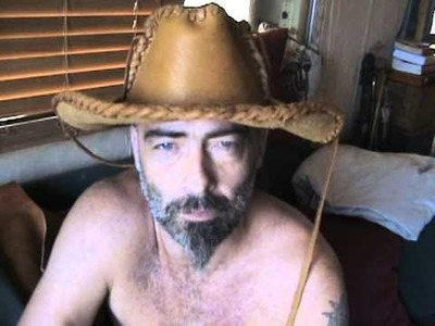 How to make a cowboy hat from scrap leather part 4