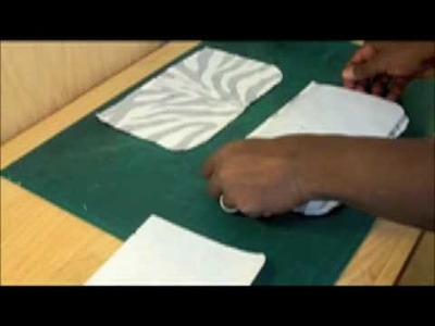 How to make a designer handbag-zebra.sewing your handbag