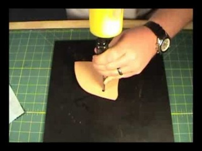 How to make a Leather Holster 1 of 3