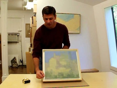 How to make a shadow box frame by Jon Peters