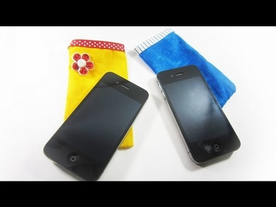 How to make an iPhone or  iPod cover - EP