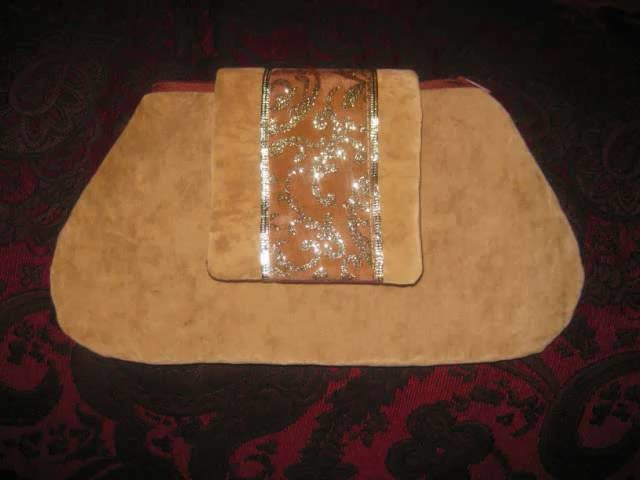 How to make clutch handbag