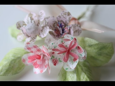 How to Make Simple Wafer Paper Flowers