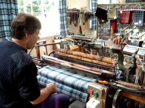 How to weave a Tartan