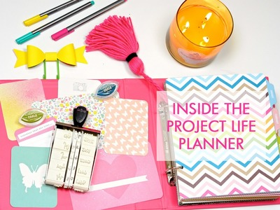 Inside The Project Life Planner