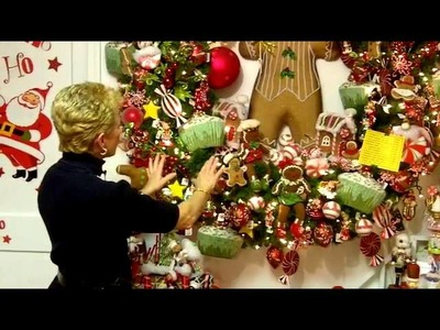 Interior Designer Annabelle | Decorating a Christmas Wreath