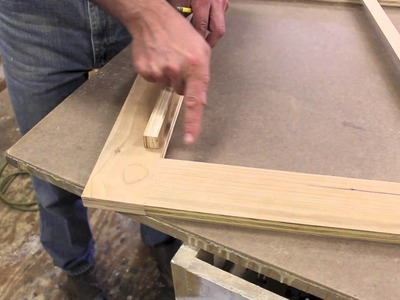 Make a fancy frame, for an antique mirror by Jon Peters