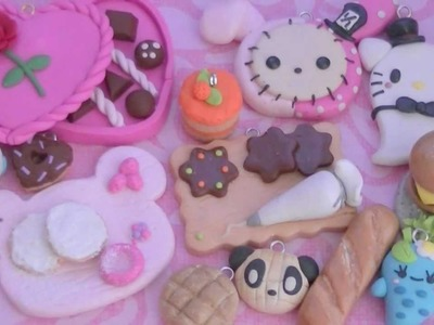 New Polymer Clay Charms