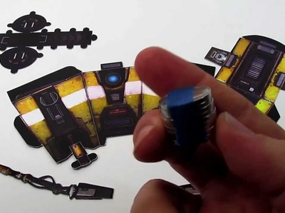 Official BradyGames: Borderlands 2 Claptrap Paper Fold Assembly Video