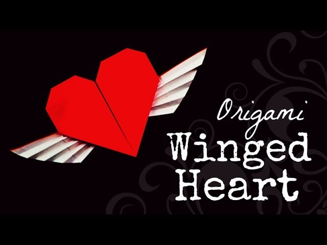 Origami winged heart instructions (Francis Ow)