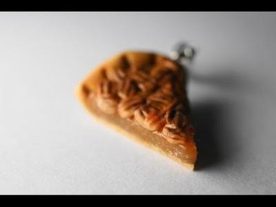 Pecan Pie Tutorial, Polymer Clay Miniature Food Tutorial