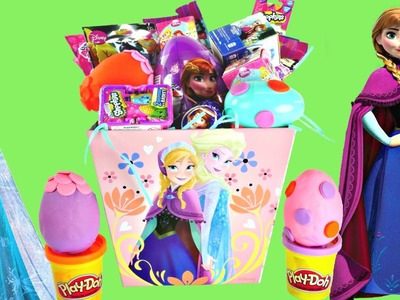 Play Doh Easter Surprise Eggs Basket Disney Frozen ★ Shopkins Princess My Little Pony Lalaloopsy Toy