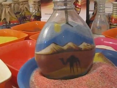 SandAndArt learn how to do sand art
