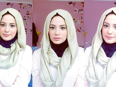 Turkish Inspired Hijab Tutorial!