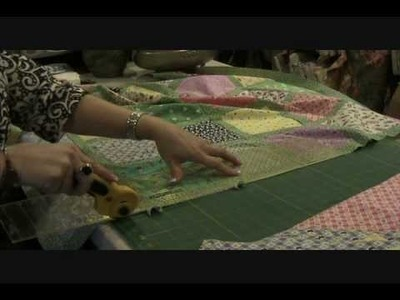 1930s Retro Baby Quilt Kit Assembly and Sashing Instructions.wmv