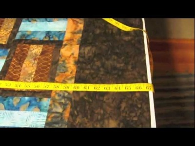 Applying straight borders to a quilt